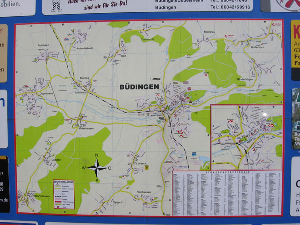 Budingen Germany Map.Map Of Budingen